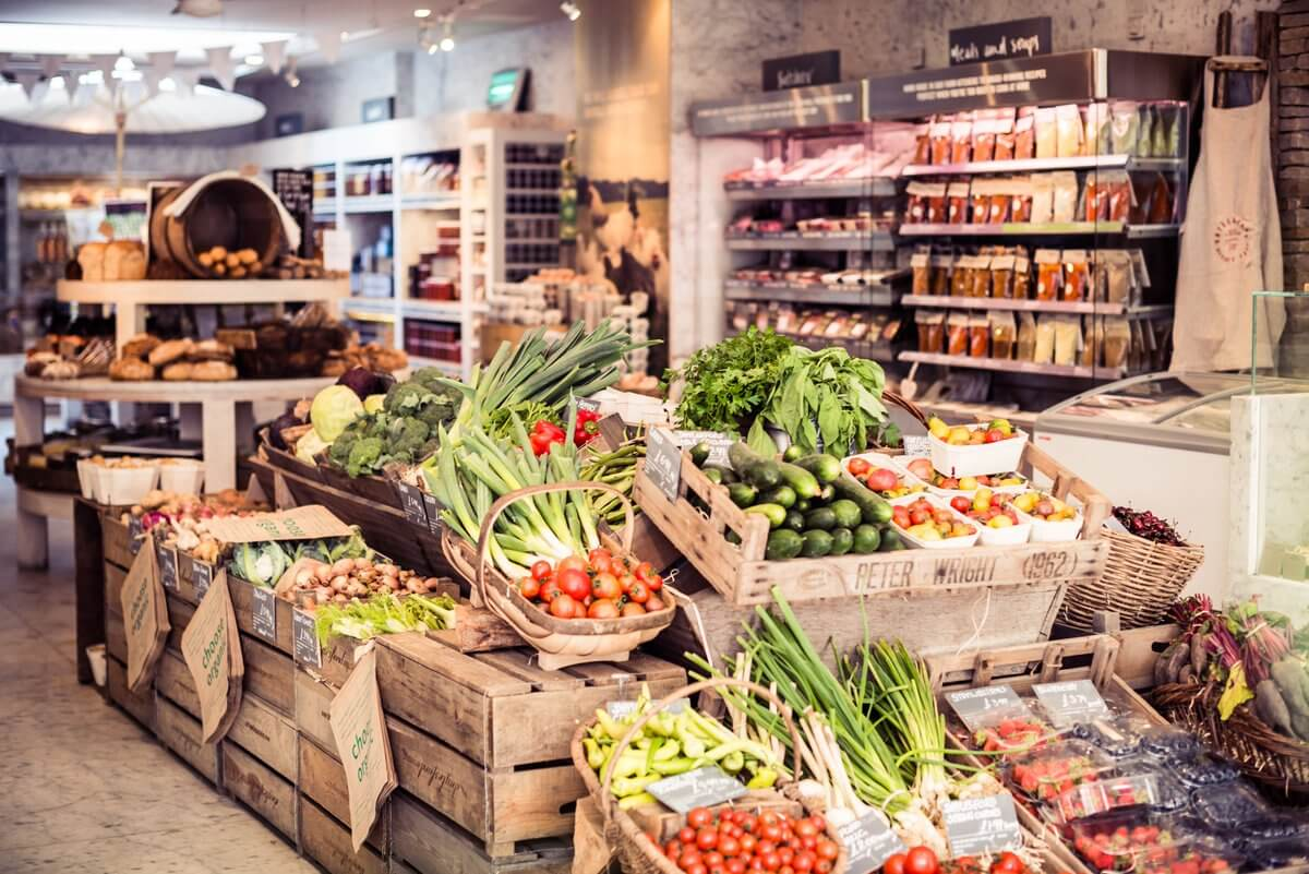Автоматизация продовольственного магазина
